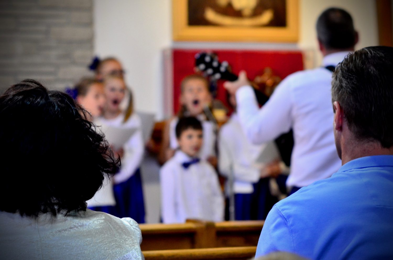 Holy Mass with the participation of children